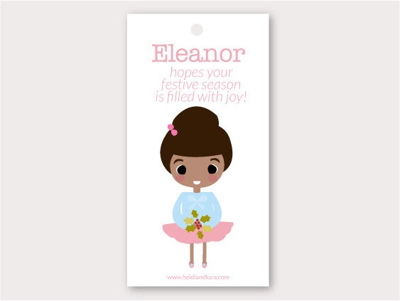 Christmas Gift Tag - Eleanor