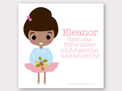 Christmas Greeting Card - Eleanor