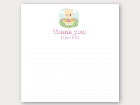 Ella Thank You Note Card