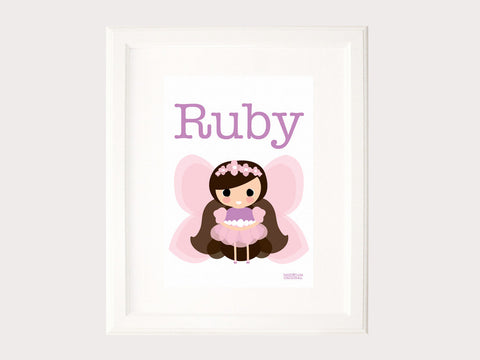 Name Print - Fairy Princess