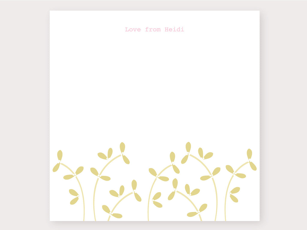 Flower Garden Note Card