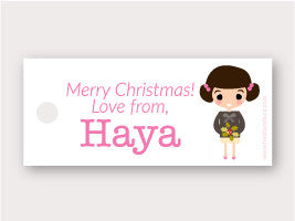 Mini Gift Tag - Haya