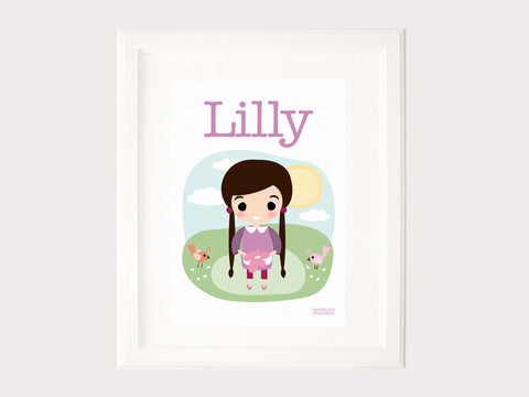 Name Print - Lilly