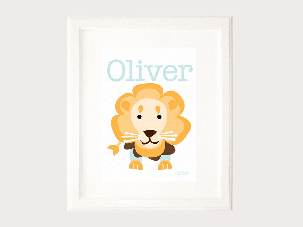 Name Print - Lionel The Lion