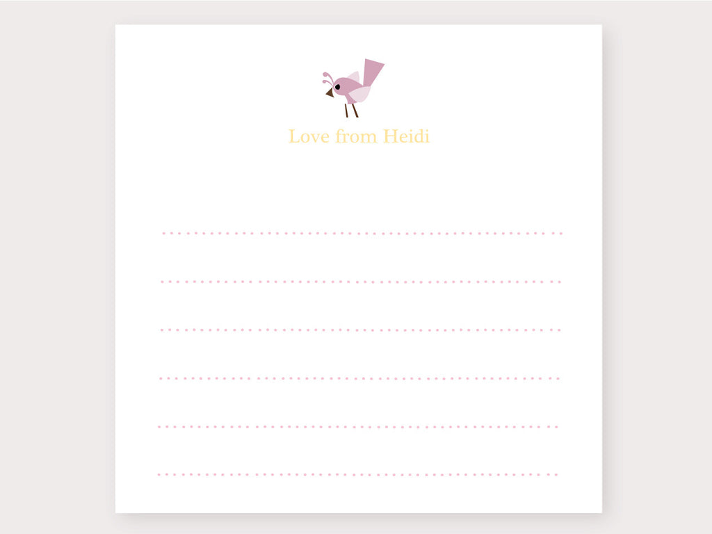 Little Birdie Note Card