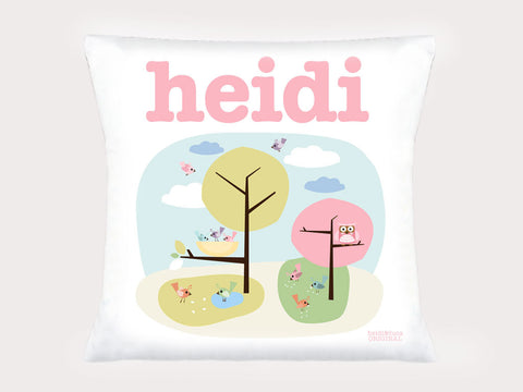 Cushion Cover - Little Birdies