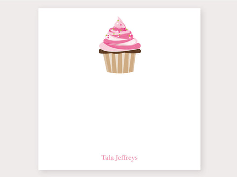 Luscious Cupcake Note Card