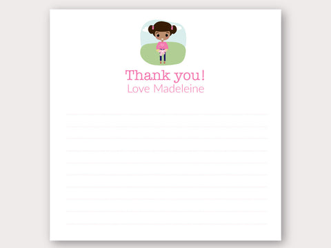 Madeleine Thank You Note Card