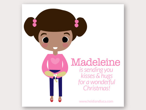 Christmas Greeting Card - Madeleine
