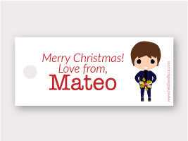 Mini Gift Tag - Mateo