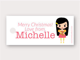 Mini Gift Tag - Michelle