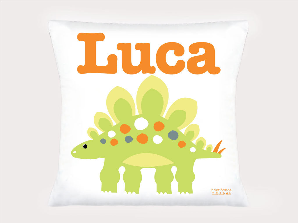 Cushion Cover - Myriam The Stegosaurus
