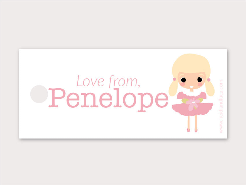 Petite Gift Tag - Penelope