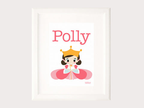 Name Print - Polly Princess