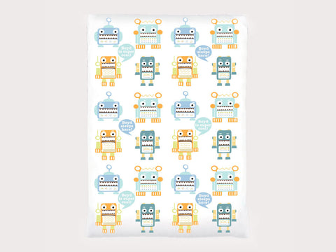 Toddler Blanket - Totally Robotic