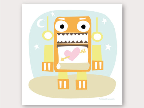 Greeting Card - Totally Robotic