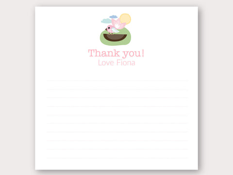 Tweety Tweet Thank You Note Card