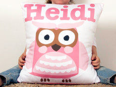Cushion Cover - Cooky Owl