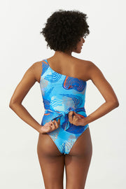 Asymmetrical Swimsuit Indian Ocean