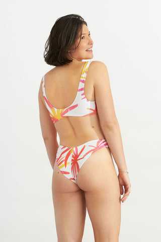 Bralette Tropical Leaves