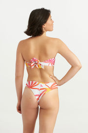 Bandeau Tropical Leaves