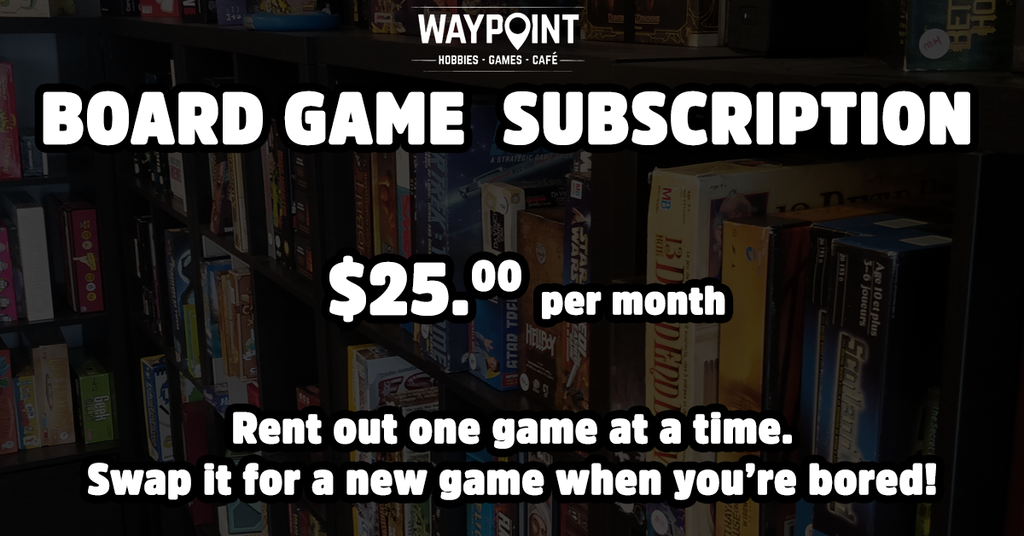Board Game Subscription Service
