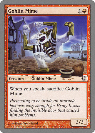 Goblin Mime [Unhinged] | Waypoint Games CA