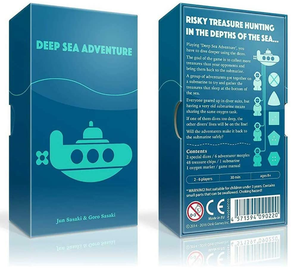 Deep Sea Adventure: A Treasure-Hunting Travel Board Game | Waypoint Games CA