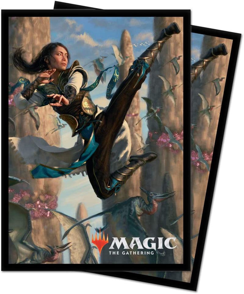 Ultra Pro MTG 100ct Ikoria Standard Sleeves - Narset of the Ancient Way