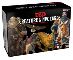 Dungeons & Dragons Spellbook Cards: Creature & NPC Cards | Waypoint Games CA