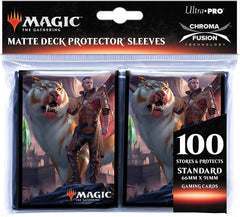 Ultra Pro MTG 100ct Ikoria Standard Sleeves - Lukka, Coppercoat Outcast | Waypoint Games CA