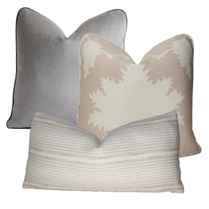 Blush Conch Garden of Persia Pillow Cover