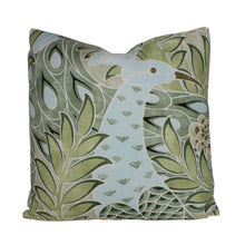 Load image into Gallery viewer, Aqua and Green Desmond Pillow Cover