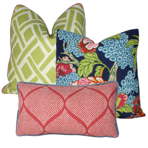 Strawberry Mocambo Pillow Cover
