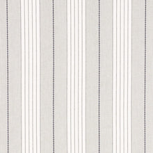 Load image into Gallery viewer, Grey Audrey Stripe Pillow Cover