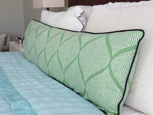 Load image into Gallery viewer, Grass Green Mocambo Pillow Cover