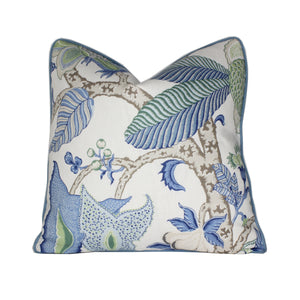 Viridian and Green Arborvitae Pillow Cover