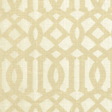 Load image into Gallery viewer, Sand and Ivory Imperial Trellis Pillow Cover