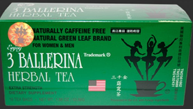 Té Herbal 3 BALLERINA 1.88 Oz