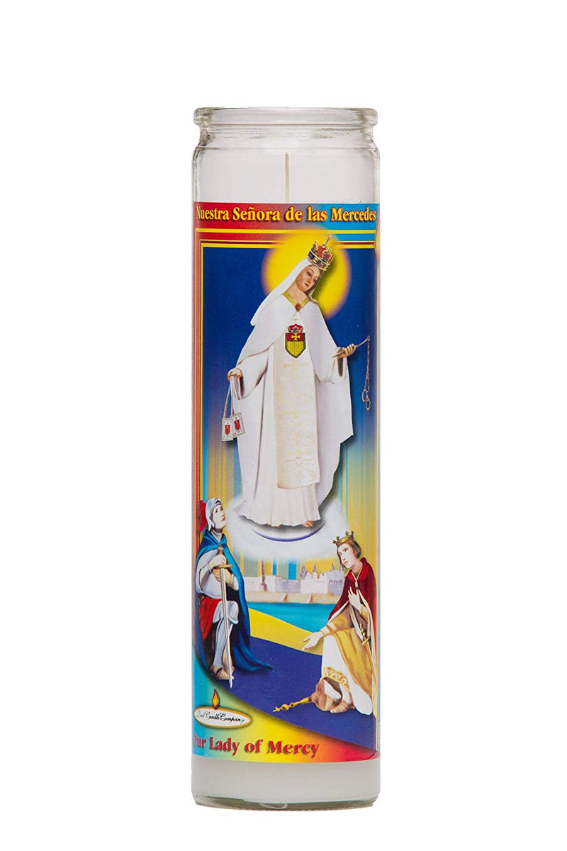 Our Lady of Las Mercedes candle