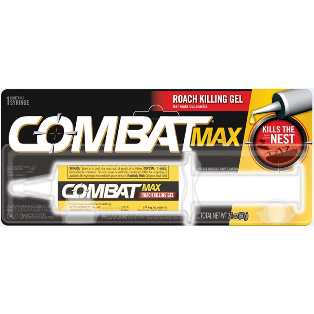 Roach Killing Gel Combat Max 2.1 Oz
