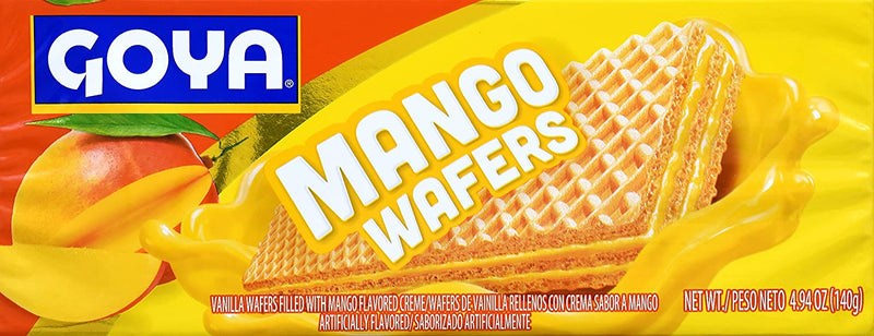 Galletas Wafers de Mango GOYA 4.94 Oz GOYA