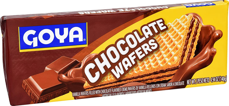 Galletas Wafers De Chocolate GOYA 4.94 oz