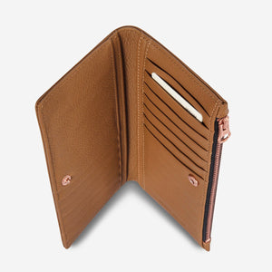 Status Anxiety // In the beginning Wallet Tan