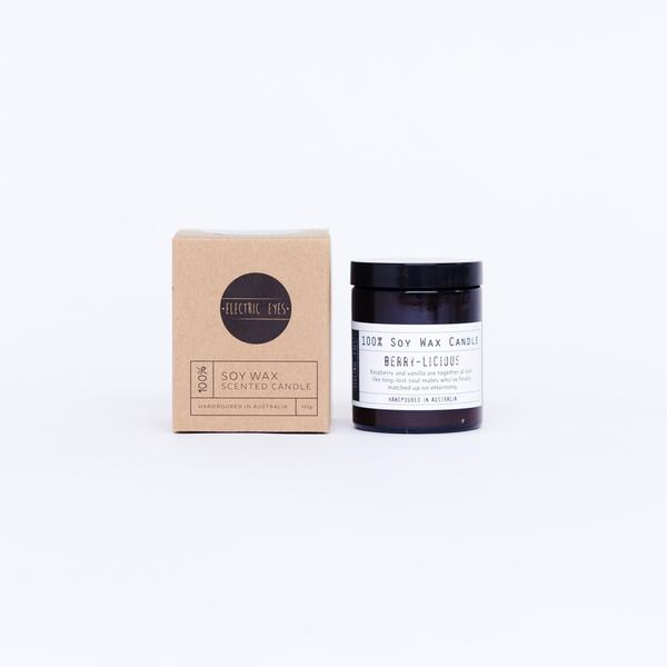Berry-Licious Soy Wax Candle - 140g