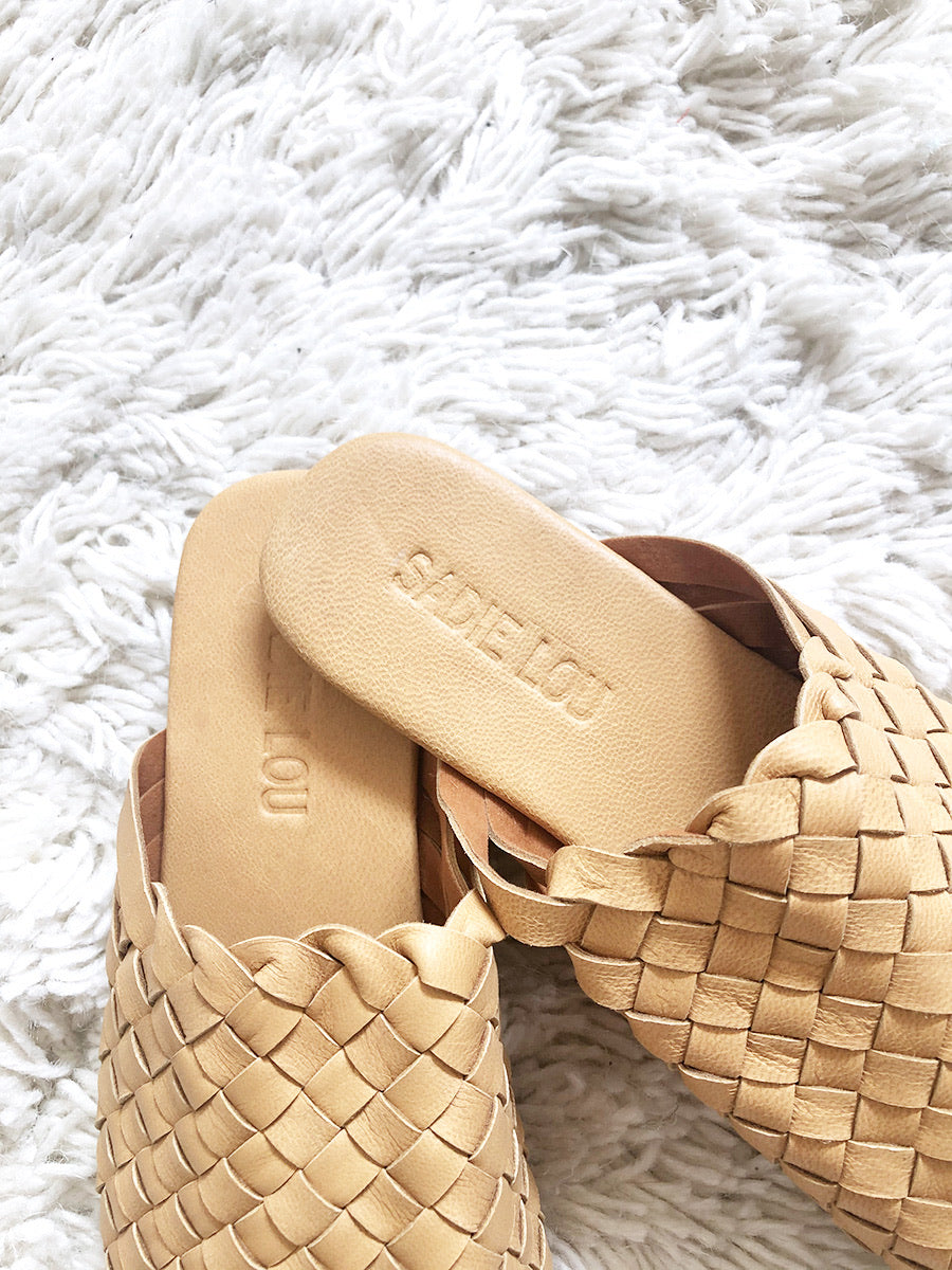 Sadie Lou  - Woven Leather Loafer