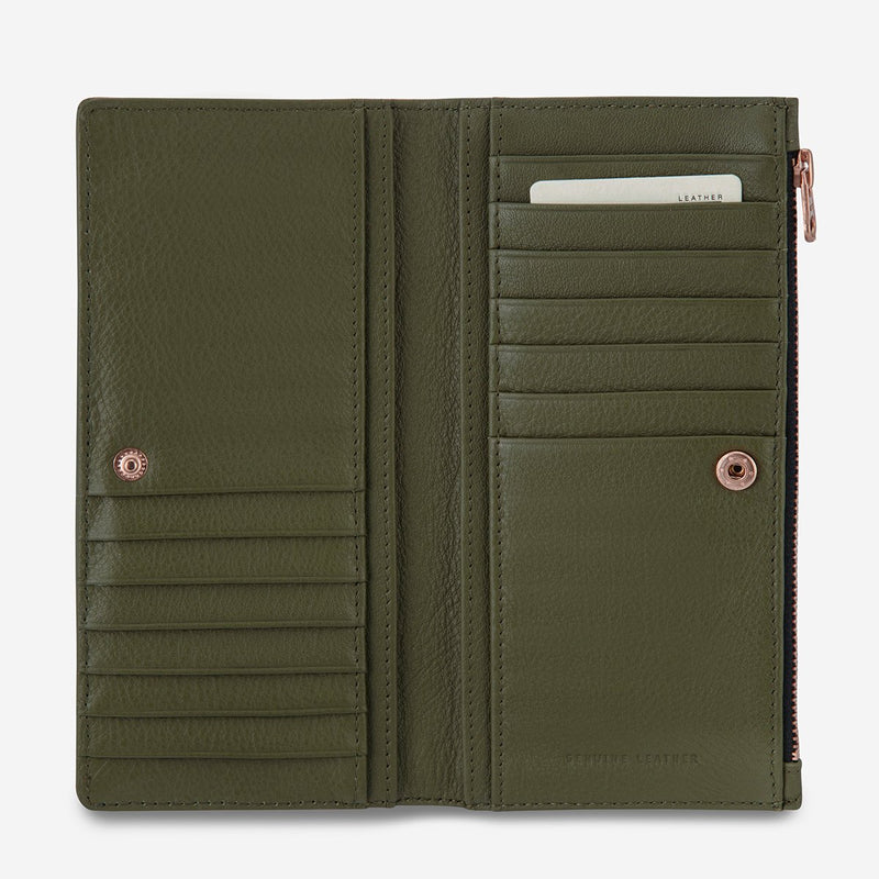 Status Anxiety // In The Beginning Wallet - Khaki
