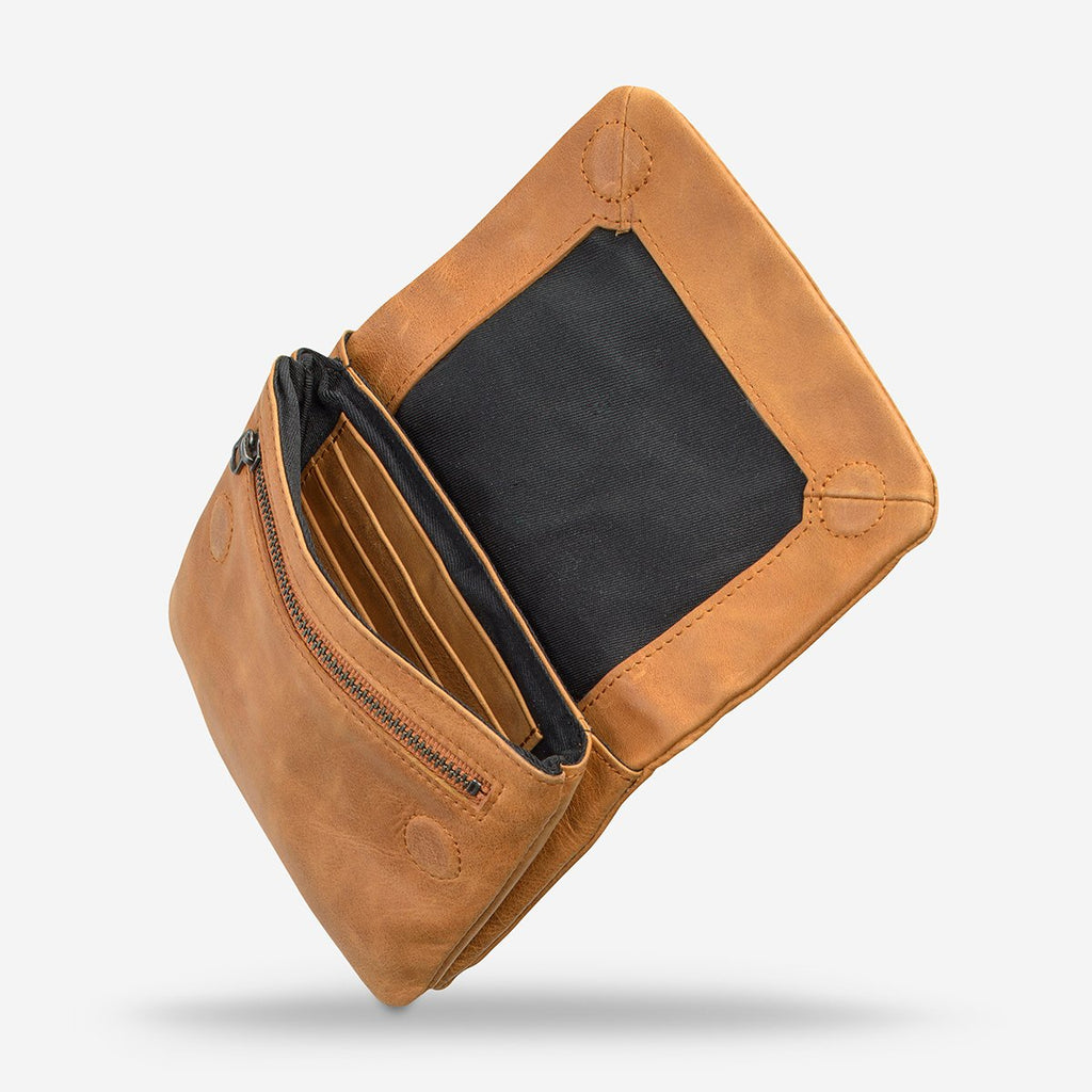 Status Anxiety // Norma Wallet - Tan