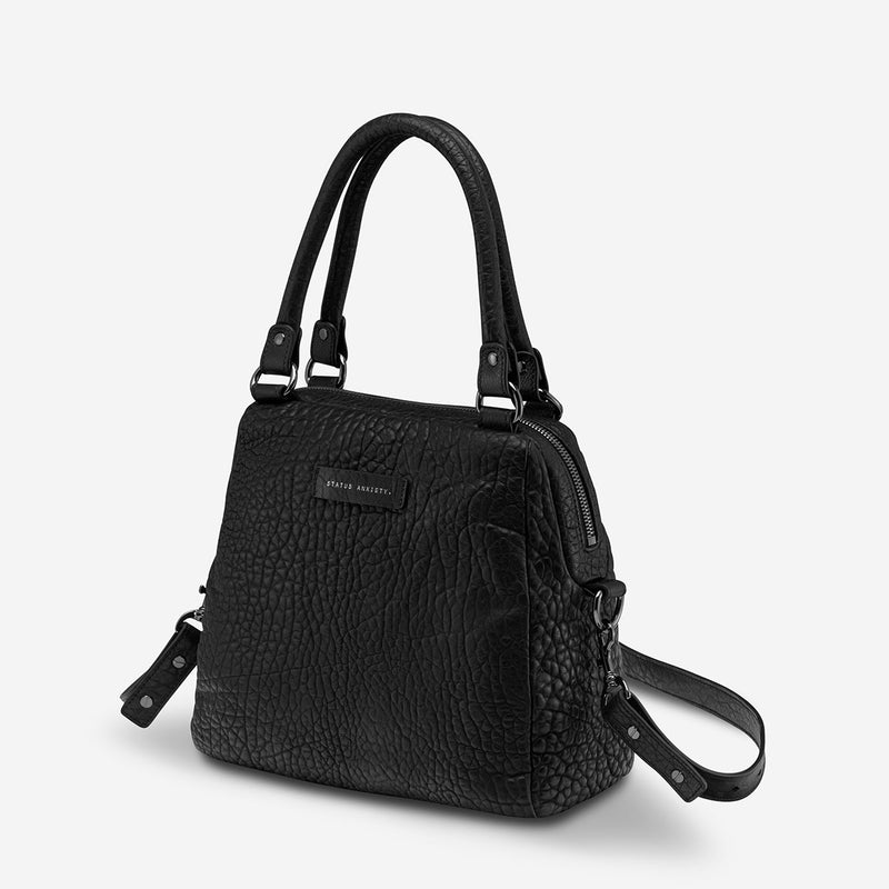 Status Anxiety // Last Mountains Bag - Black Bubble