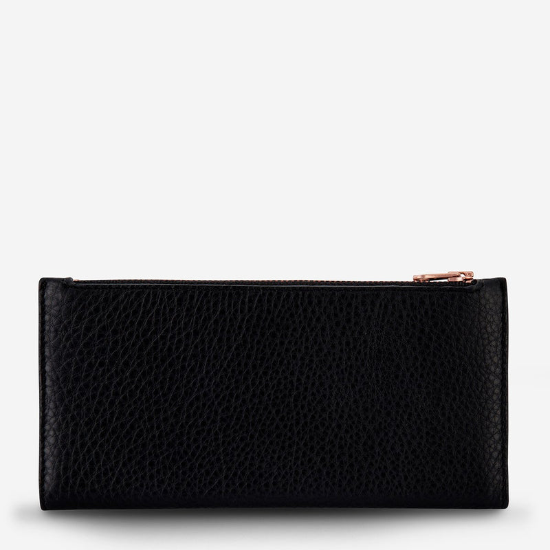 Status Anxiety // In The Beginning Wallet - Black